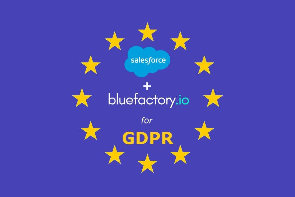 How Salesforce & Bluefactory help to become GDPR compliant ?